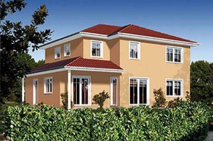 ... individuell geplant ! - Schlichte Architektur mit südländischem Charme und viel Platz - www.jk-traumhaus.de - vorschau