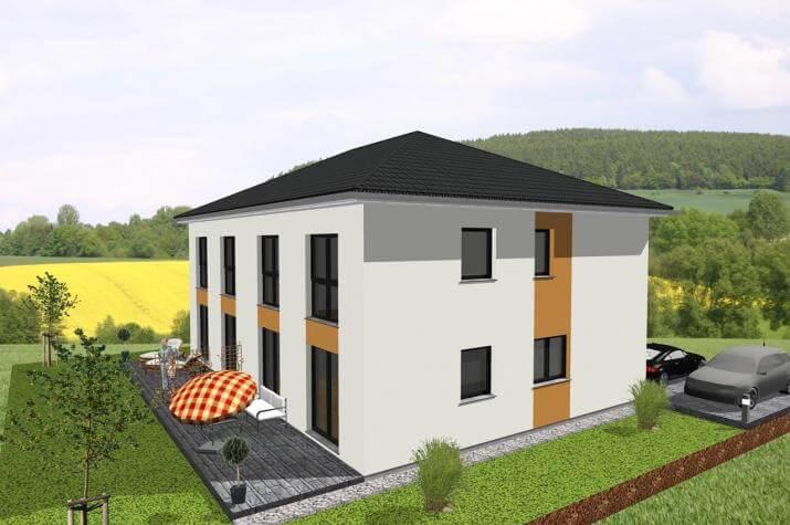 -individuell geplant- Stadtvilla im Doppelpack - www.jk-traumhaus.de -