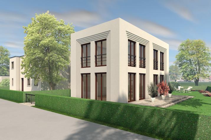5 x 5 kompakt Haus 06 - Außenansicht