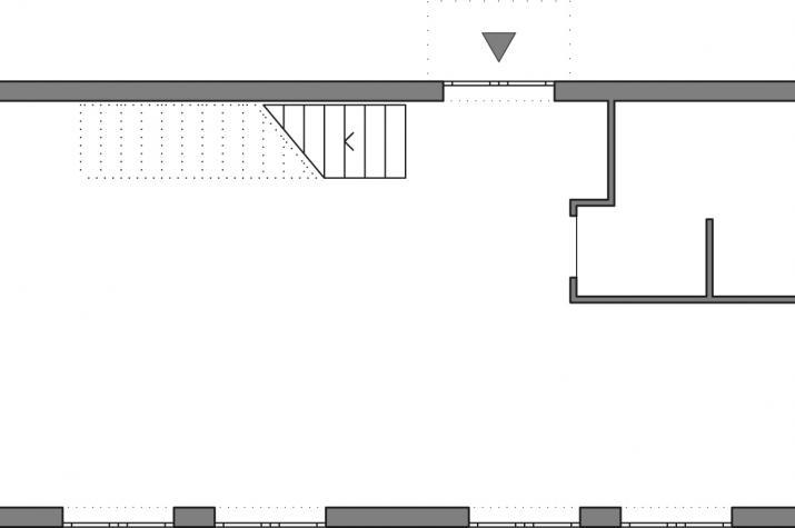 5 x 5 kompakt Haus 06 - Grundriß EG schematisch
