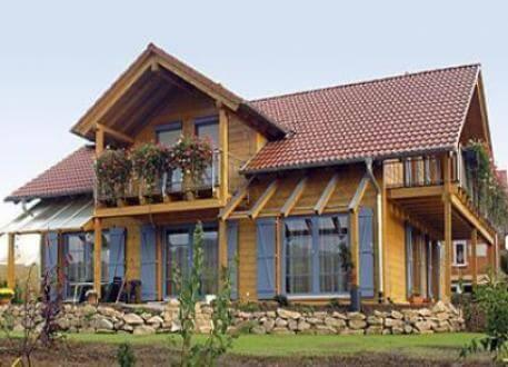 B 165 - Frammelsberger Holzhaus