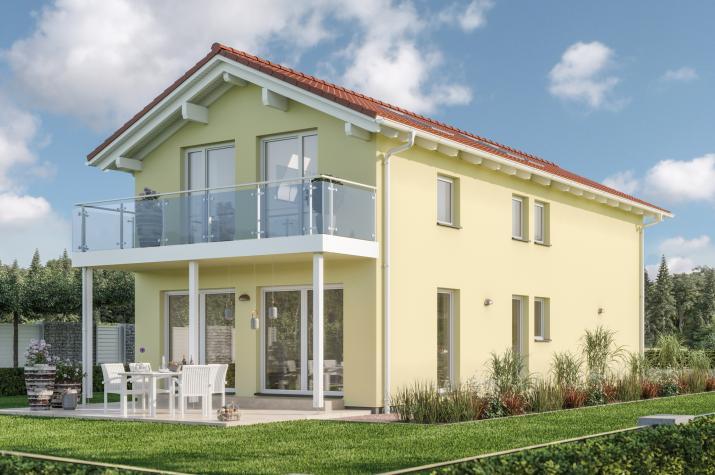 BALANCE 148 V2 - BALANCE 148 V2 – Klar zoniertes Einfamilienhaus mit großem Balkon