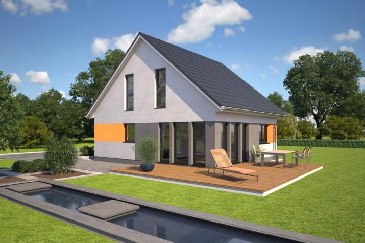 Bärenhaus Einfamilienhaus Esprit 112 - Esprit 112 Garten