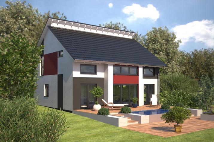 Bärenhaus Einfamilienhaus Esprit 155 - Esprit 155 Garten