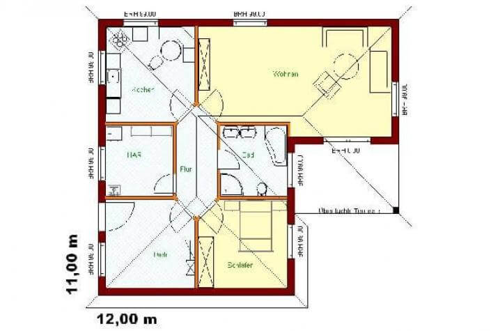 Bautzen V1 - grundriss eg
