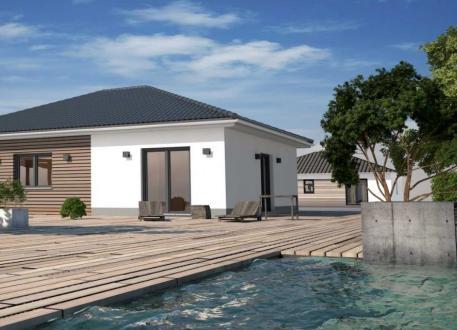 Bungalow mit 90 m²  - Kleines Raumwunder - Energiesparhaus+ Projekt GmbH