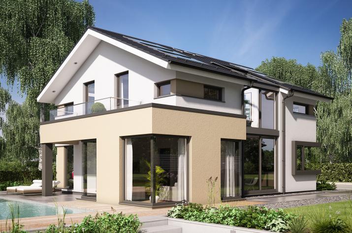 "CONCEPT-M 153 Stuttgart - Repräsentatives Einfamilienhaus, inspiriert vom Dreiklang ""Licht, Luft, Leben"""
