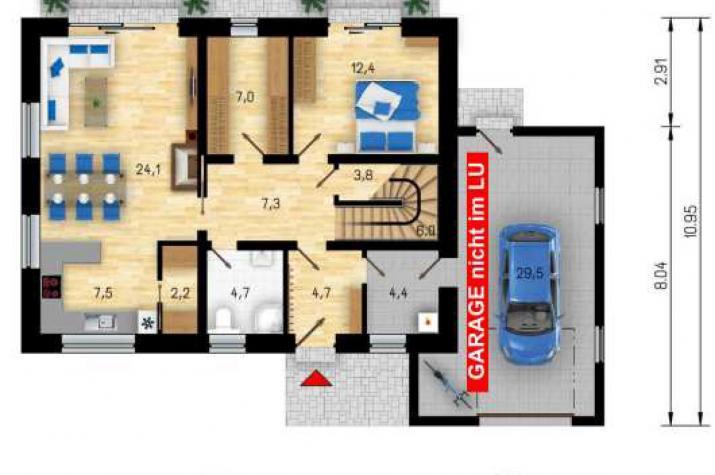 CStV 159 BOLZANA - EG mir ca. 83 m²