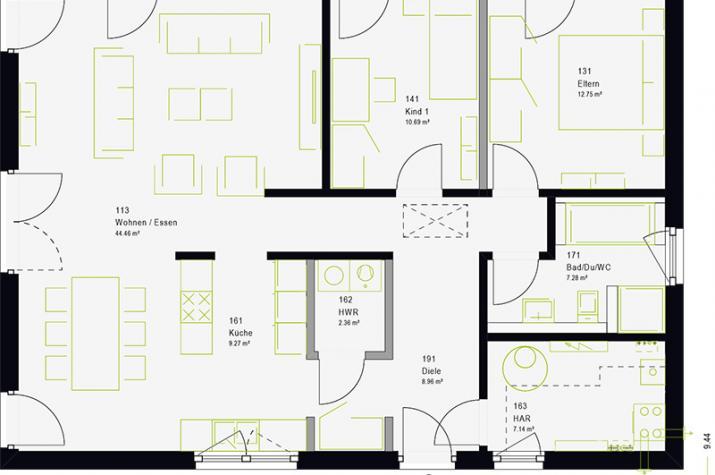 ComfortStyle 10.01 P - Erdgeschoss