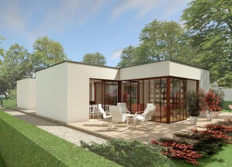 Das Patiohaus PAT07-H02 - cube-design-house
