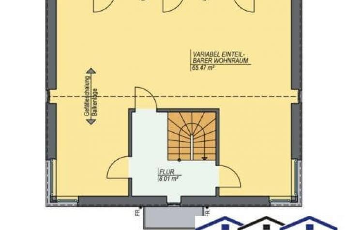 Designerhaus Vario - grundriss dg