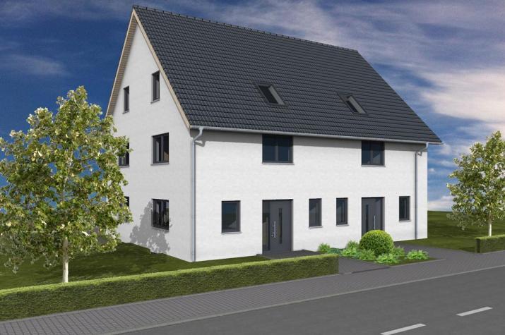 Doppelhaus Bad Homburg - Doppelhaus- Eingang
