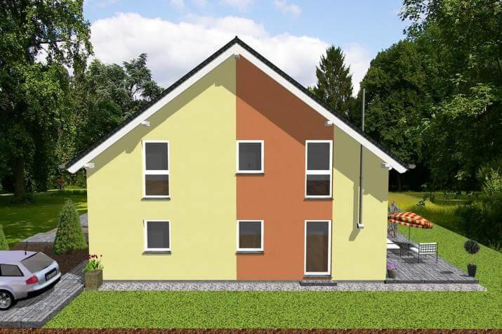 Doppelhausähnliches Zweifamilienhaus-www.jk-traumhaus.de -