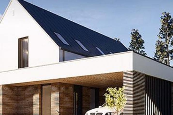 Einfamilienhaus 120 modern -