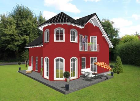 Einfamilienhaus mit romantischem Türmchen - www.jk-traumhaus.de - JK TRAUMHAUS