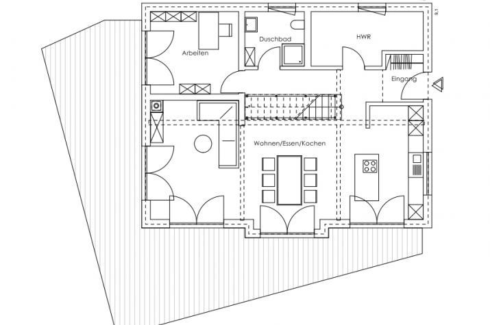 Glonn - Modernes Landleben - Naturnahes Wohnen und Leben - Erdgeschoss