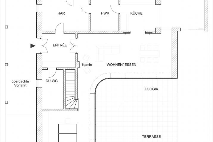 Haus Adagio - Grundriß EG