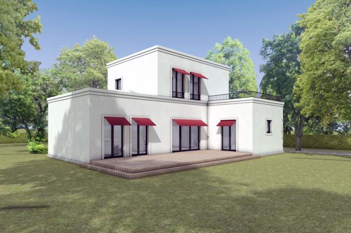 Haus H. - Gartenperspektive