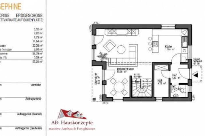 Haus Josephine - EG