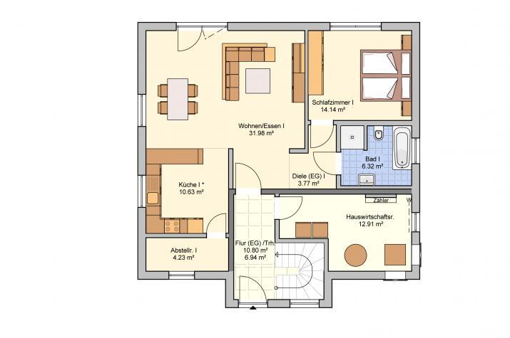 Junto 184 - Erdgeschoss