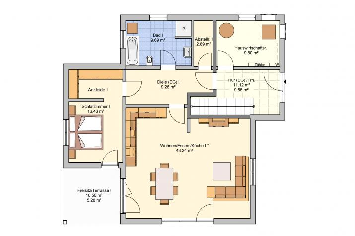 Junto 222 - Erdgeschoss
