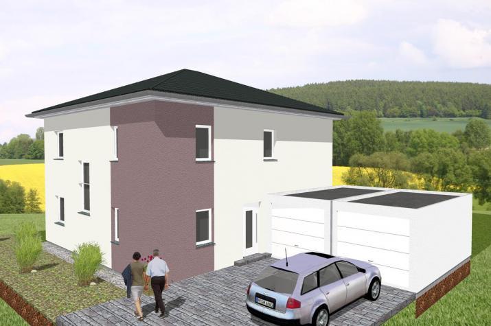 Moderne Stadtvilla mit dem gewissen Etwas - www.jk-traumhaus.de -
