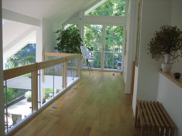 Modernes Einfamilienhaus Kleingarten Weià e Fassade ...