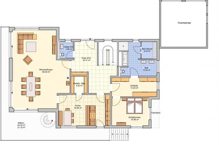 Novum - smartes Zuhause - Erdgeschoss