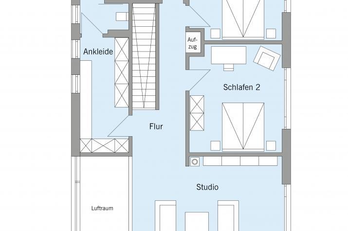 Pawliczec - Dachgeschoss