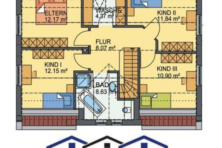 Planungsvorschlag für das Haus Drachten - grundriss dg