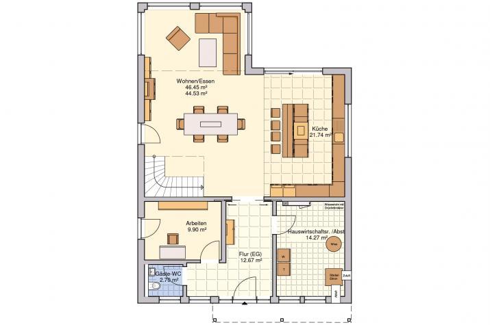 Plata - Ein Haus - viele Wohn(t)räume - Erdgeschoss