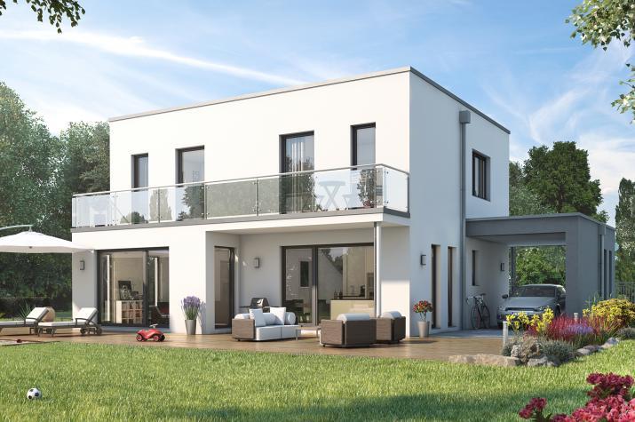 SUNSHINE 143 V7 - Schickes Einfamilienhaus im Bauhausstil zum absoluten Traumpreis