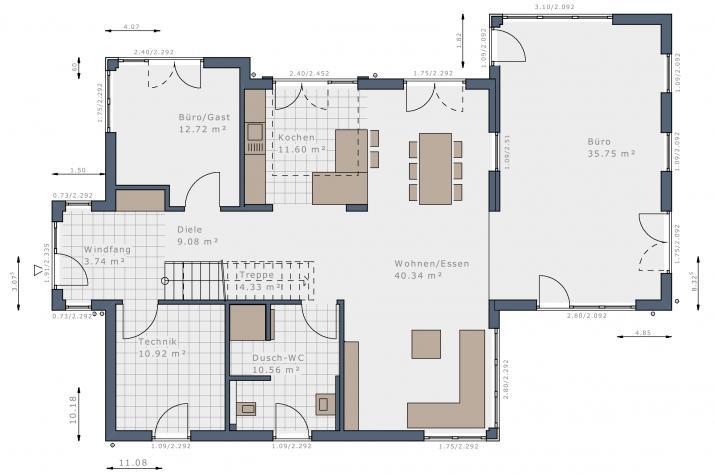 Selection-E-160 - Musterhaus Fellbach - Grundriss Erdgeschoss