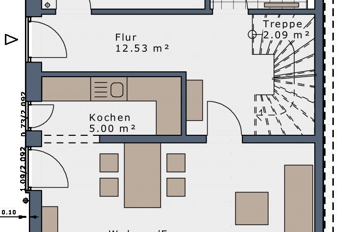 SmartSpace-D-111 Entwurf 9 - Grundriss Erdgeschoss