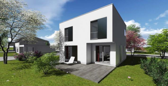 Stadtvilla | SV_01 | 121 qm | KfW55 - Bräuer Architekten Rostock