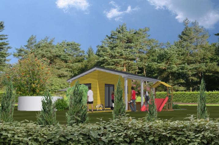 Tiny Home Garten - Variante 1