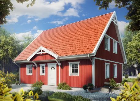 Villa Hanna Knudsen - ALADOMO Schwedenhaus GmbH & Co.KG