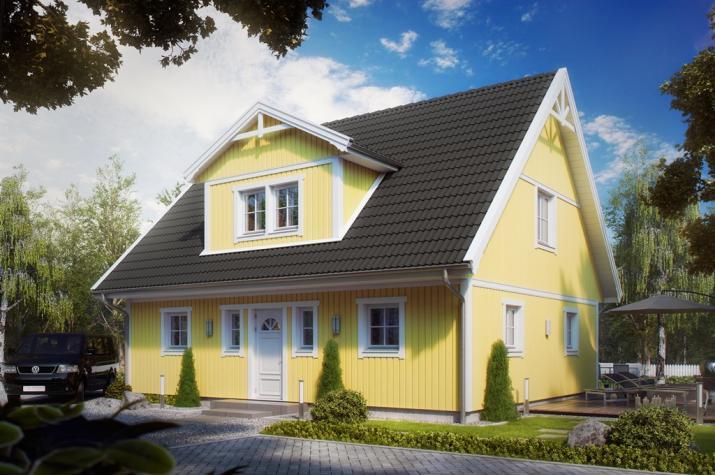 Villa Henrik Knudsen - Villa Henrik Knudsen außen