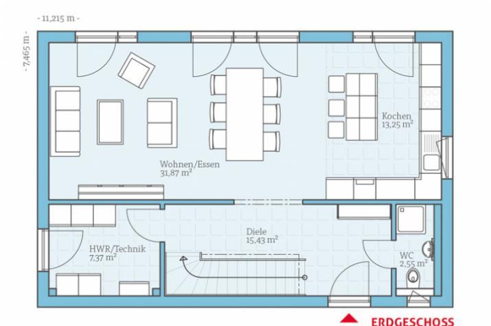 Vita 138 - Erdgeschoss