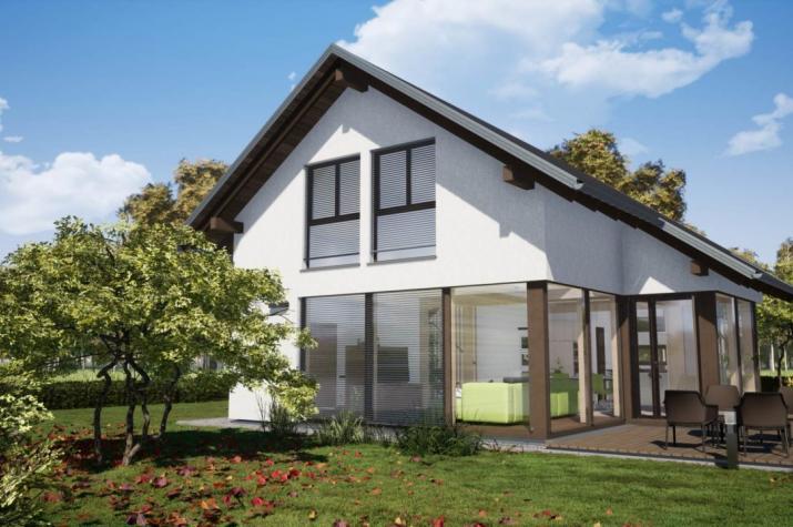 Vita Prima 134 - Haus mit Sonderbauteil