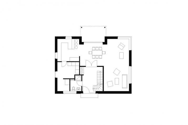 Wohnhaus | WH2 | 173 qm | KfW55 - EG