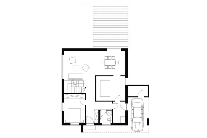 Wohnhaus | WH3 | 168 qm | KfW55 - EG