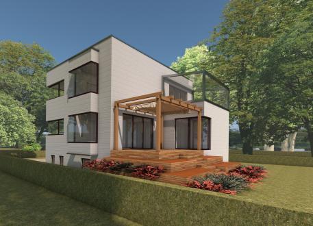 Wohnhaus Wirt - cube-design-house