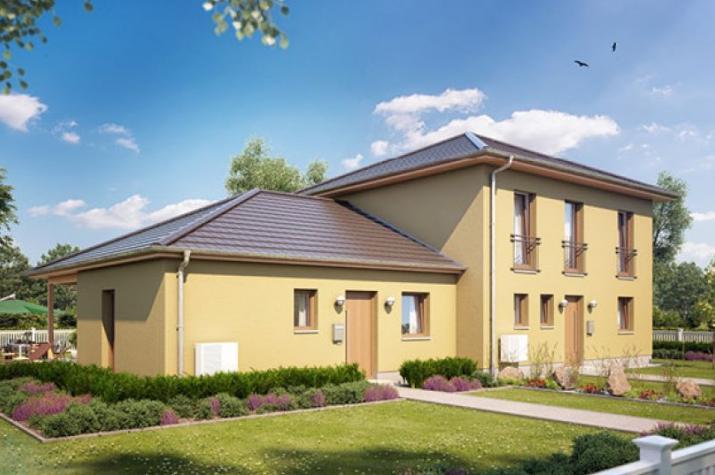 Zweifamilienhaus 130 in NRW und Hessen - Außenansicht