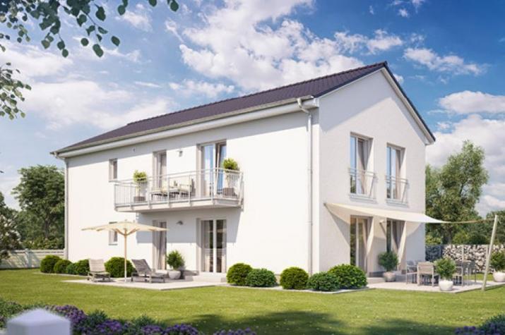 Zweifamilienhaus 490 in NRW und Hessen - Außenansicht