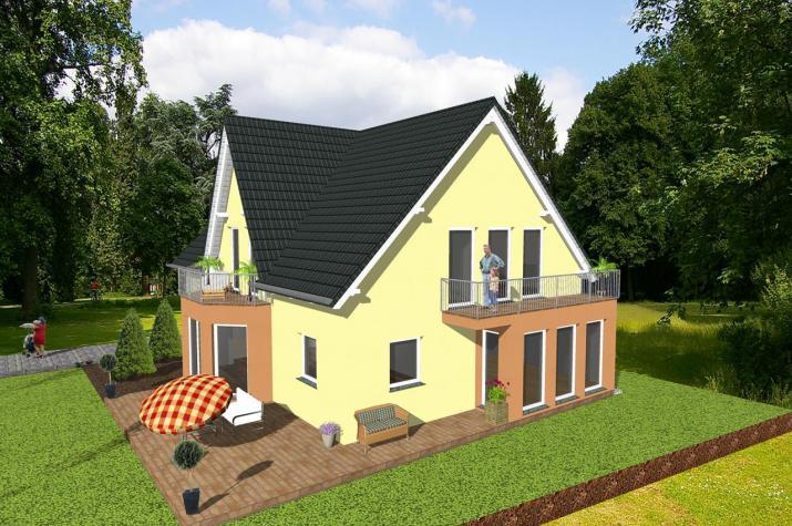 ...individuell geplant ! - Generationshaus im Landhausstil - www.jk-traumhaus.de -
