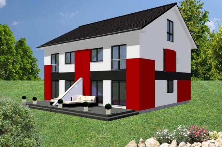 ...individuell geplant ! - Geradlinig, funktional und wandelbar mal zwei - www.jk-traumhaus.de -