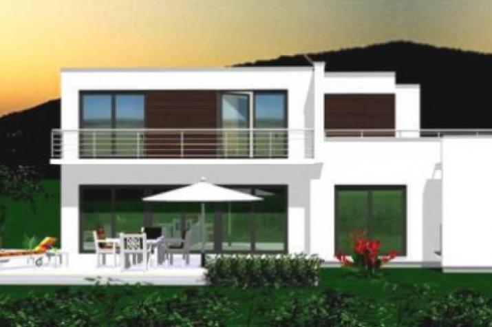 ...individuell geplant ! - Großzügige Villa im Bauhausstil mit integrierter Garage und Dachterrasse - www.jk-traumhaus.de - vorschau