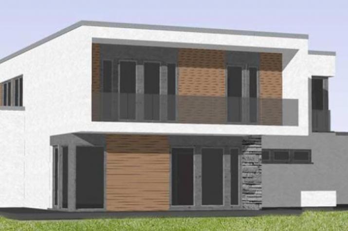 ...individuell geplant ! - Imposantes Bauhaus mit interessanter Fassadengestaltung - www.jk-traumhaus.de -