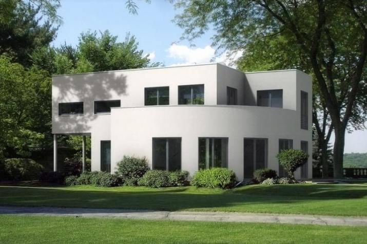 ...individuell geplant ! - Interessante Bauhausvilla mit außergewöhnlichen Formen - www.jk-traumhaus.de -